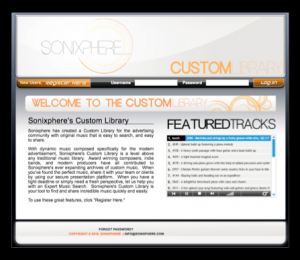 Custom Library Screen